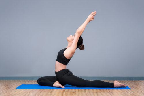Ilustrasi Gerakan Barreless, Yoga