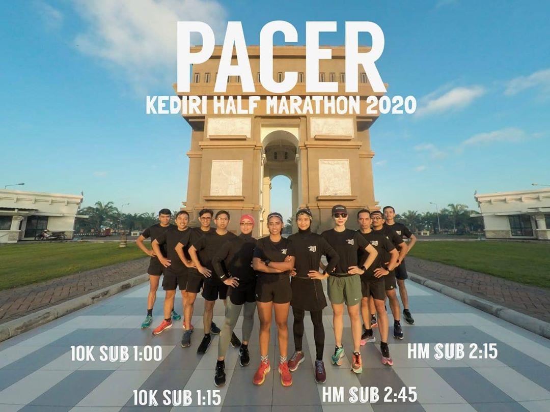Pacer Kediri Half Marathon/Instagram: @kedirihalfmarathon