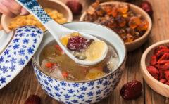 Peach Gum Healthy Dessert, Sehat dan Bikin Awet Muda!