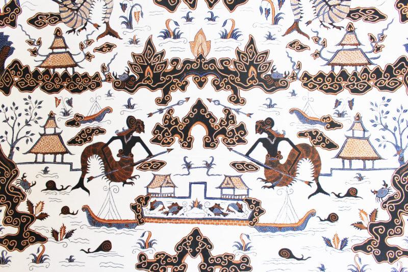 motif batik Supit Urang
