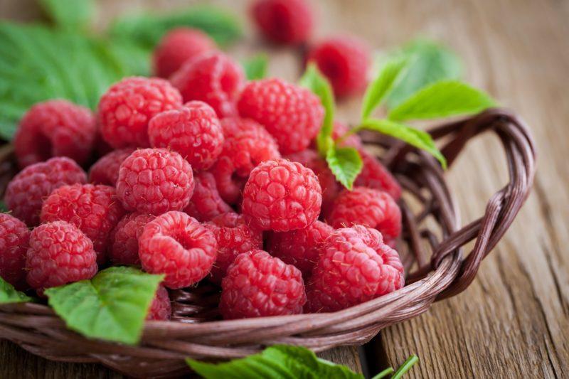 Buah raspberries