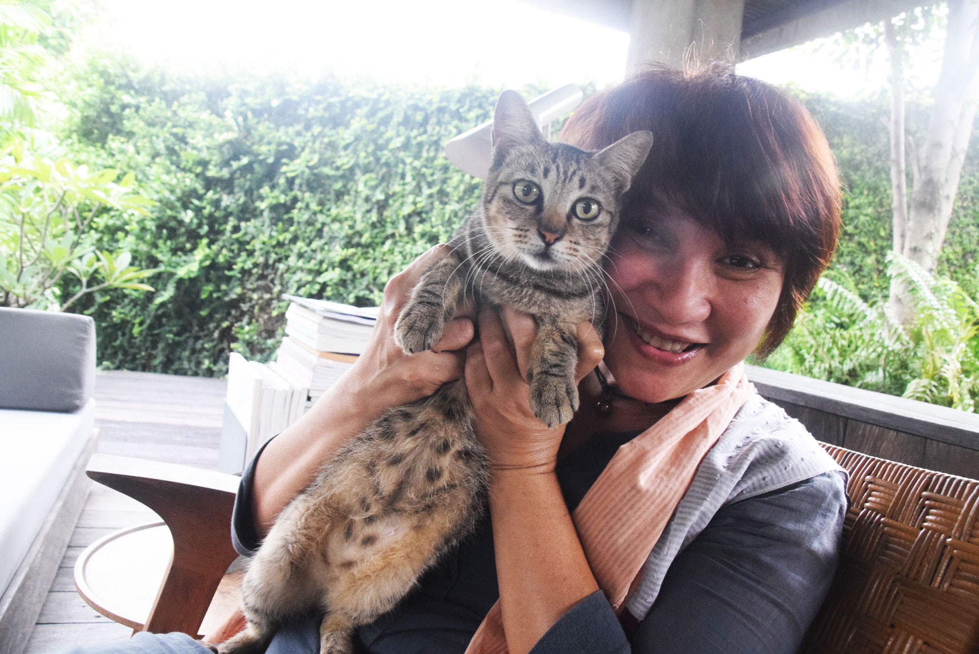 Dite Matin, pecinta kucing