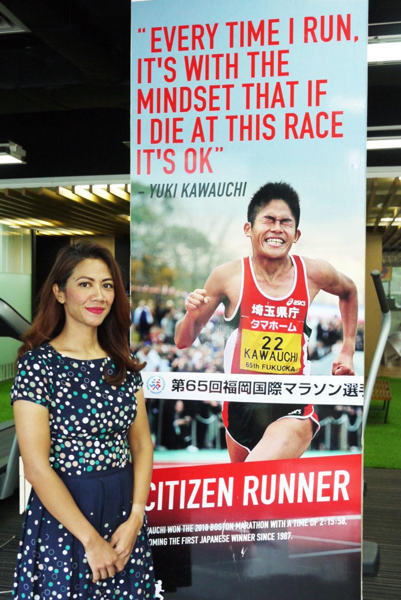 Narita Diyan mengidolakan Kawauchi Yuki, citizen runner Jepang dan juara Boston Maraton 2010