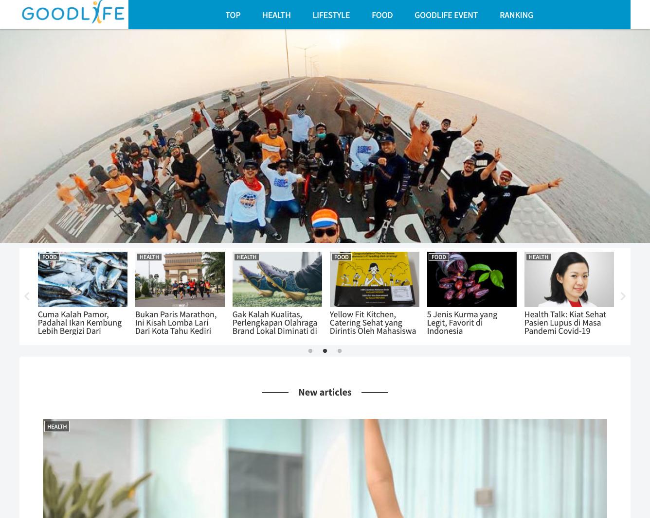 GOODLIFE Web Image