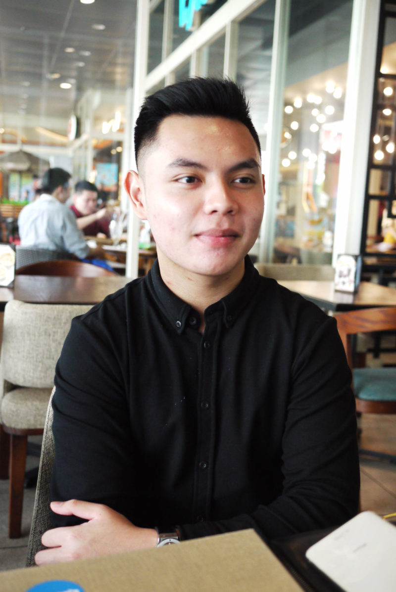 Ruben, Salah satu pendiri Yellow Fit Kitchen