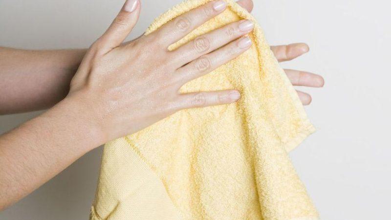 Metode pengeringan tangan
