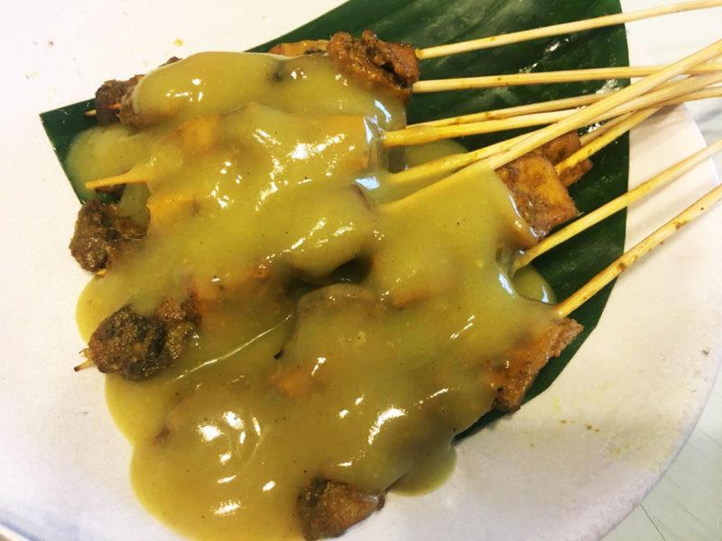 sate Padang vegan
