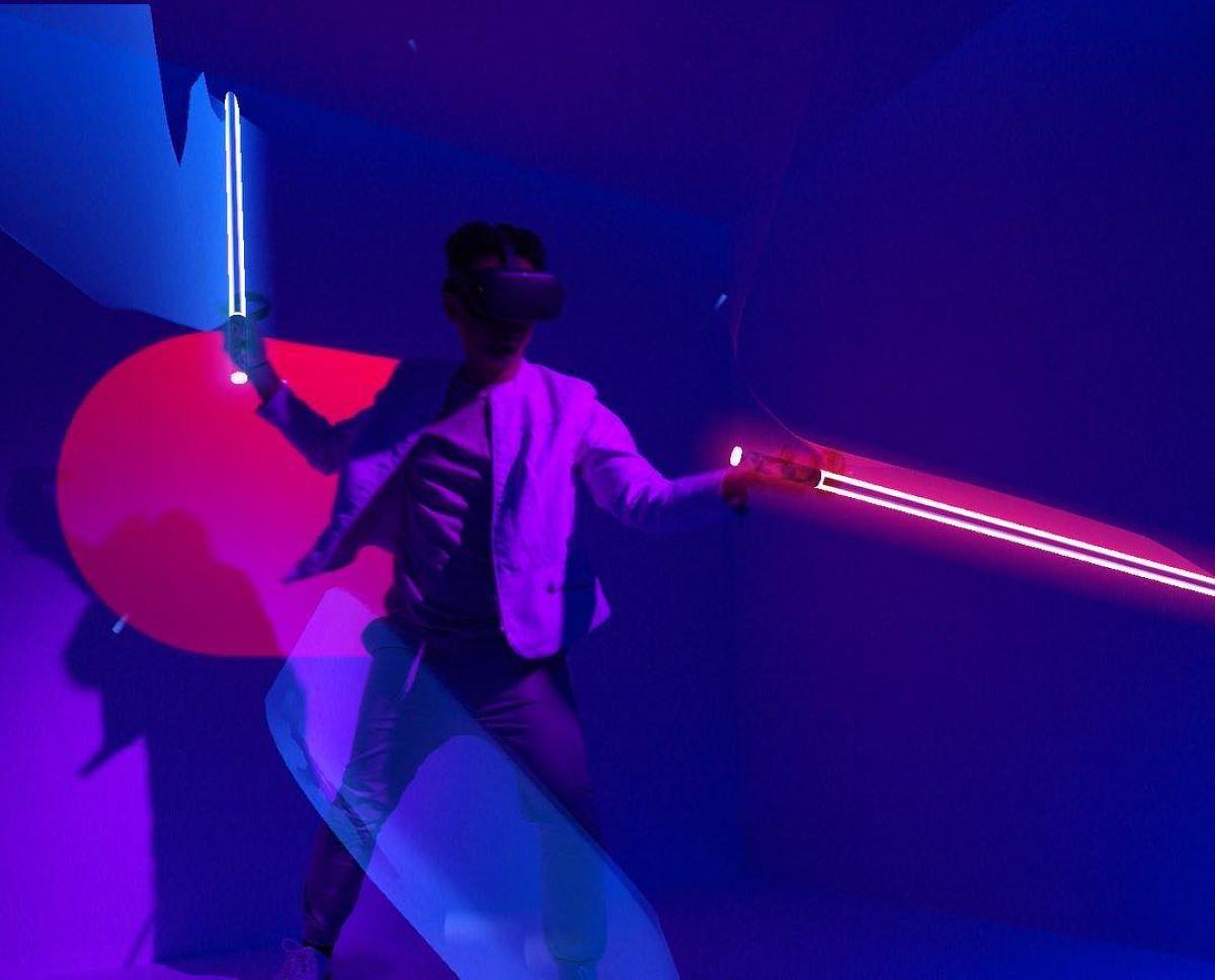 VR olahraga beat saber