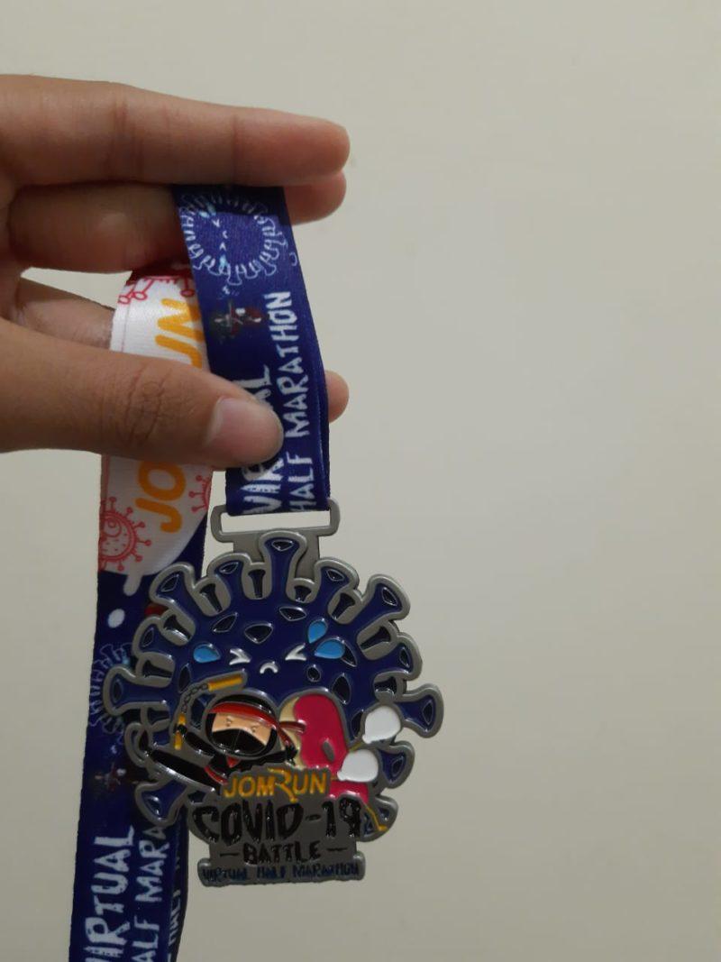 medali virtual run