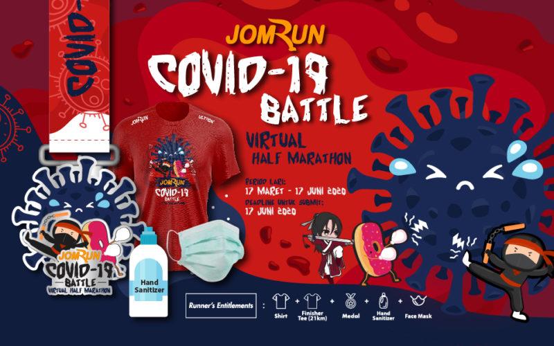 JomRun Covid-19 Battle Virtual Half Marathon