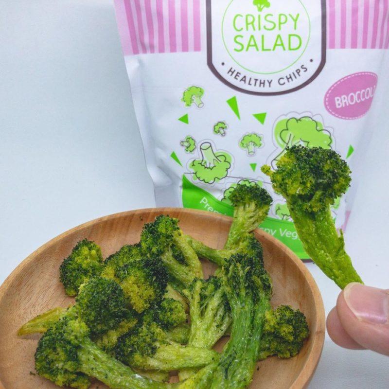 cemilan sehat, Crispy Salad