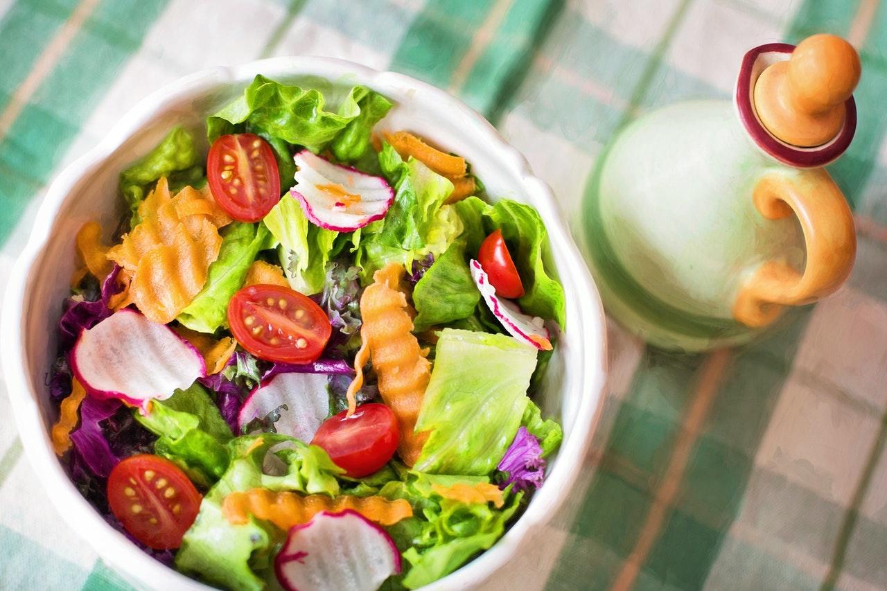 makanan restoran dan katering plant based